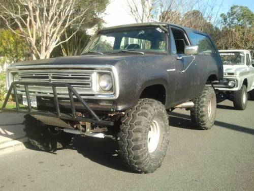 1976 Ramcharger Full Time 4X4 For Sale: Orange County ...