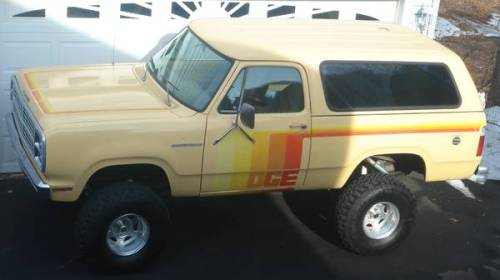 1979 dodge ramcharger for sale in hartford connecticut 8 000. Black Bedroom Furniture Sets. Home Design Ideas