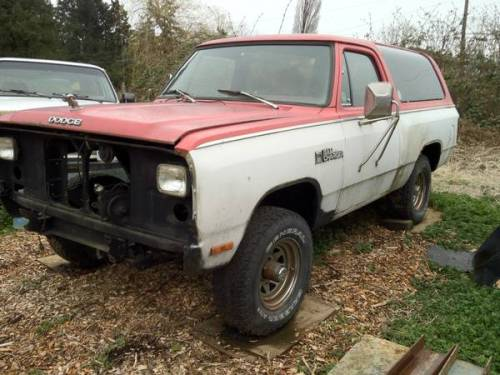 1980 Dodge Ramcharger For Sale in Vancouver, British ...