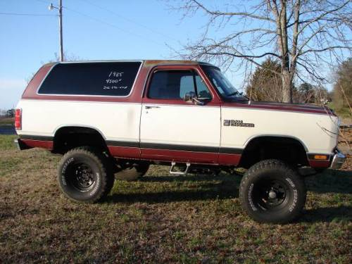 1985 dodge ramcharger for sale in huntsville alabama 4000. Black Bedroom Furniture Sets. Home Design Ideas