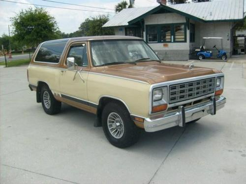 1985 dodge ramcharger for sale in st augustine florida 4 995. Black Bedroom Furniture Sets. Home Design Ideas