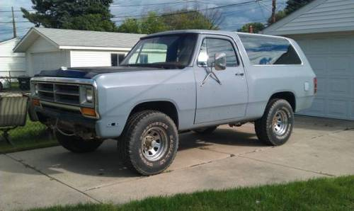 1987 dodge ramcharger for sale in warren michigan 1000 obo. Black Bedroom Furniture Sets. Home Design Ideas
