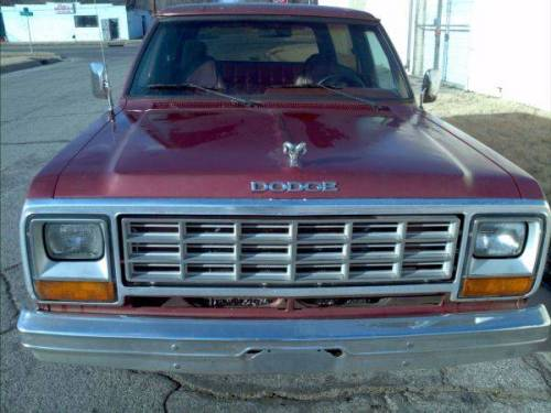 1985 Dodge Ramcharger For Sale In Wichita Kansas 2 000 Obo Or Trade