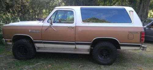 1986 dodge ramcharger for sale in kohala hawaii 2 000. Black Bedroom Furniture Sets. Home Design Ideas
