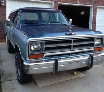 1987 Dodge Ramcharger For Sale in Belews Creek (Winston ...