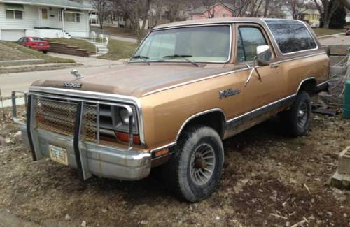 1987 dodge ramcharger for sale in omaha nebraska 2 300. Black Bedroom Furniture Sets. Home Design Ideas
