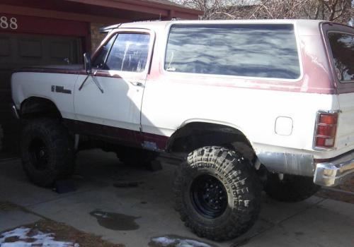 1987 Dodge Ramcharger Rockcrawler For Sale in Denver ...