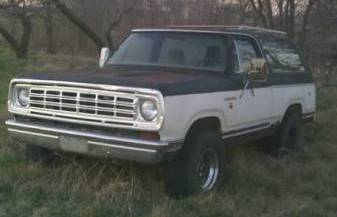 1975 dodge ramcharger for sale craigslist autos post. Black Bedroom Furniture Sets. Home Design Ideas