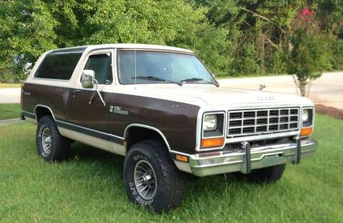 Greer Sc on 1990 Dodge Ramcharger Parts