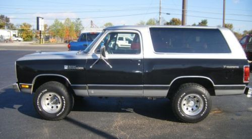 1984 dodge ramcharger suv prospector for sale in nashville tennessee. Black Bedroom Furniture Sets. Home Design Ideas