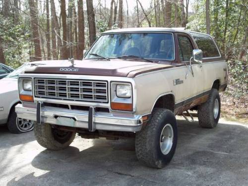 1984 dodge ramcharger 4x4 for sale in williamsburg virginia 3 200. Black Bedroom Furniture Sets. Home Design Ideas