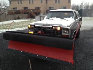 1985 Dodge Ramcharger 8 Ft Snow Plow For Sale in Allentown ...