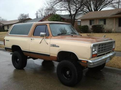 1985 dodge ramcharger for sale in dallas texas 2 800. Black Bedroom Furniture Sets. Home Design Ideas