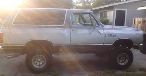 1986 Dodge Ramcharger For Sale in Central San Antonio ...