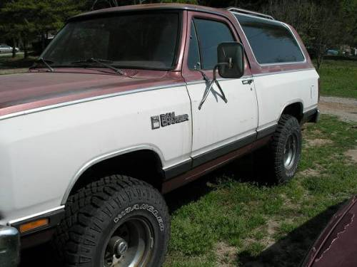 1987 Dodge Ramcharger For Sale In Cowpens South Carolina 4k