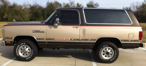1990 dodge ramcharger 5 2l v8 4x4 for sale richmond houston texas. Black Bedroom Furniture Sets. Home Design Ideas