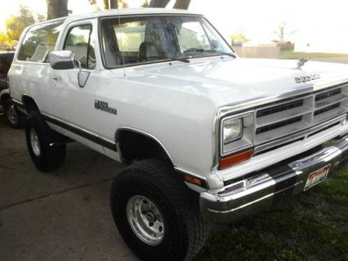 1990 dodge ramcharger for sale in southhill spokane washington. Black Bedroom Furniture Sets. Home Design Ideas