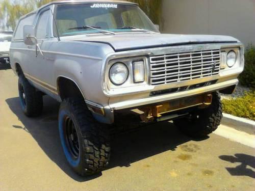 1978 Dodge Ramcharger For Sale in Phoenix, Arizona - $3,500