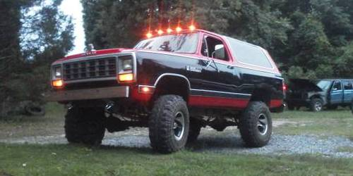 1983 Dodge Ramcharger Royal SE For Sale in New Kent ...