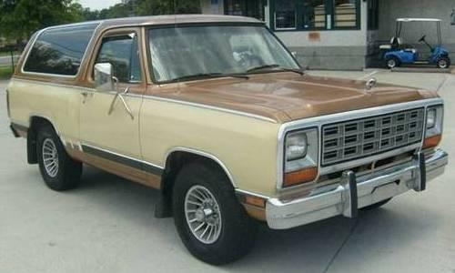 1985 Dodge Ramcharger For Sale In Daytona Beach Florida 4 995