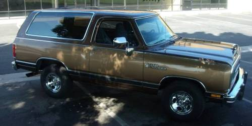 1988 Dodge Ramcharger For Sale in Loma Linda, California ...