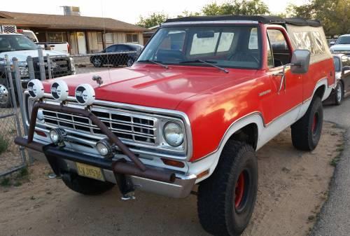 1974 Dodge Ramcharger Rebuilt 360 For Sale in Apple Valley ...