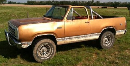 1976 Plymouth Trailduster 360 Auto For Sale in Lyons ...