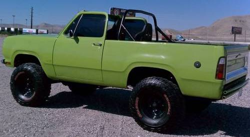 1978 Dodge Ramcharger 440 Big Block For Sale in South Las ...