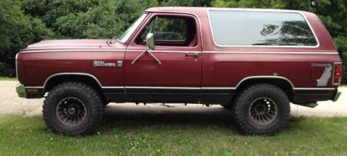 1983 Dodge Ramcharger Prospector 4x4 For Sale In Oconomowoc Wi