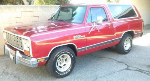 1984 Dodge Ramcharger For Sale in Tijuana, Mexico - $4,500