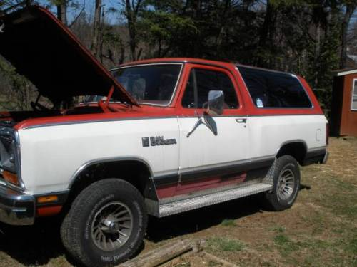 Craigslist Roanoke Va >> 1986 Dodge Ramcharger D100 4WD For Sale in Roanoke Virginia