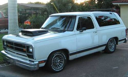 1987 Dodge Ramcharger Custom LE For Sale in North Port ...