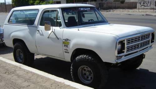 Slo Craigslist: 1976 Dodge Ramcharger 440 Magnum For Sale In San Luis, AZ