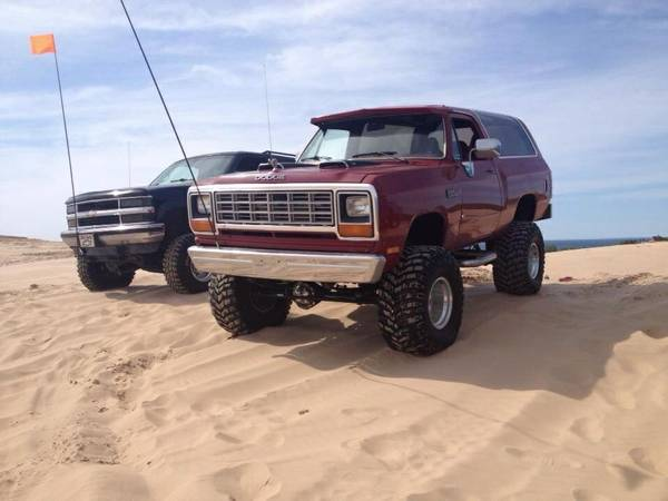 1983 Dodge Ramcharger Lifted For Sale in Jackson MI