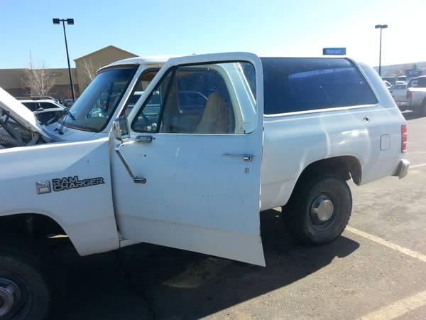 1988 Dodge Ramcharger 4WD For Sale in Farmington Nm