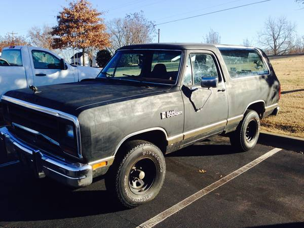 Craigslist New Orleans Louisiana >> 1988 Dodge Ramcharger 4WD For Sale in Piedmont PA