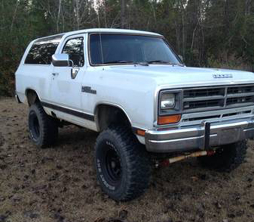 1989 Dodge Ramcharger 4x4 For Sale in Bristol FL