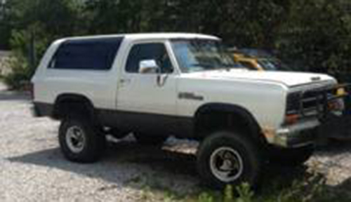 1990 Dodge Ramcharger 4x4 For Sale in Okaloosa FL