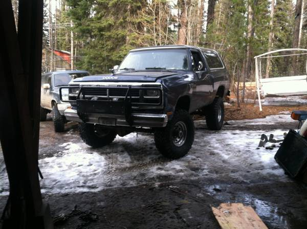 1993 Dodge Ramcharger 12 Valve For Sale in McCall ID