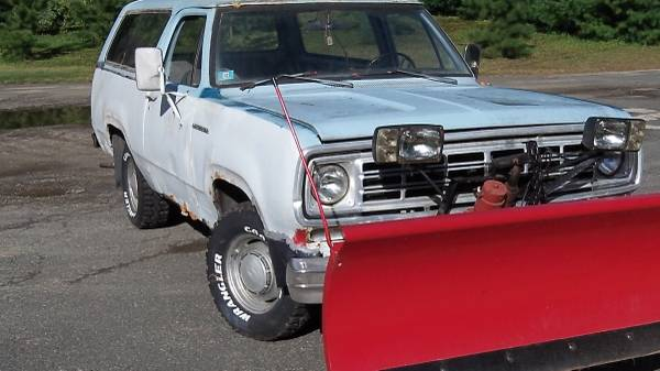 1976 4x4 Dodge Ramcharger For Sale in Westfield MA