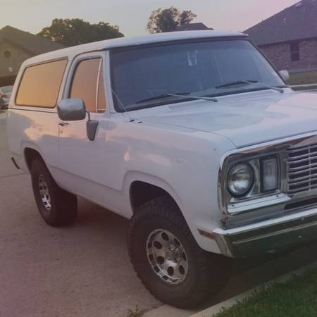 1977 Dodge Ramcharger For Sale in Cedar Park TX