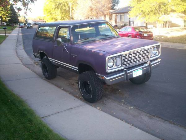 Thornton Co on 1990 Dodge Ramcharger Parts