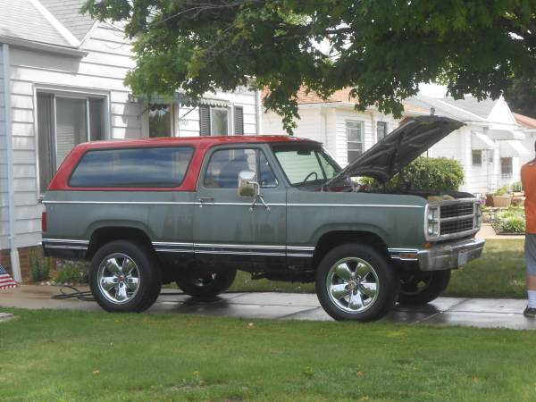 1980 Dodge Ramcharger 4x4 For Sale in Parma OH