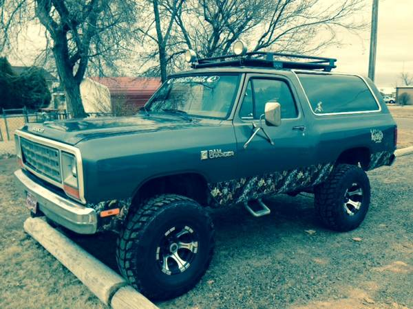 1984 Dodge Ramcharger 318 V8 Auto For Sale In Olympia Wa