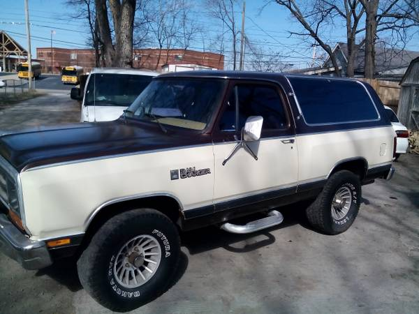 1986 4x4 Dodge Ramcharger For Sale In East Nashville TN