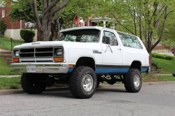 Craigslist Missoula Mt >> 1987 Dodge Ramcharger 318 For Sale in Roanoke City VA