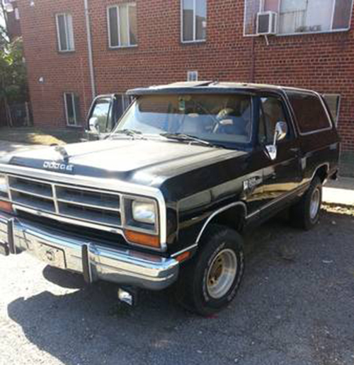 1988 Dodge Ramcharger For Sale In Washington Dc