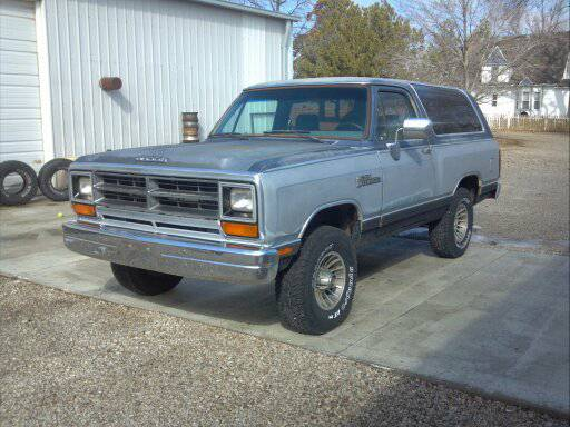 1989 Dodge Ramcharger 4x4 For Sale in Burlington KS