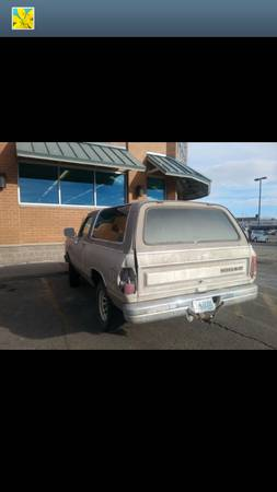 1989 Dodge Ramcharger 4x4 For Sale in Casper WY