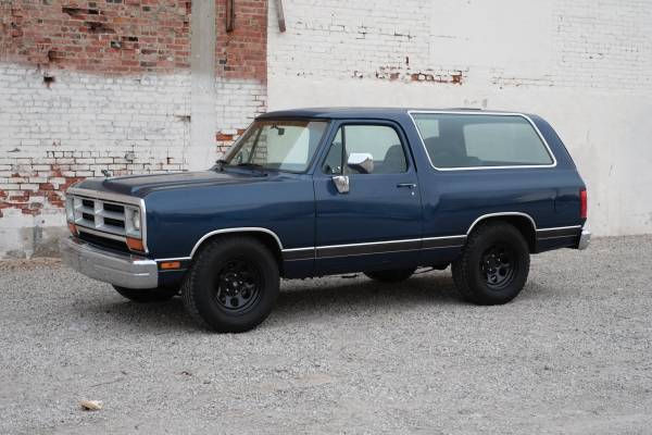 1990 Dodge Ramcharger For Sale In Long Beach Ca
